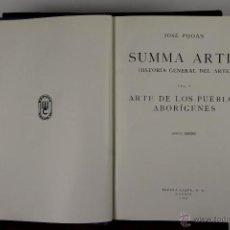 Libros de segunda mano: 4547- SUMMA ARTIS HISTORIA GENERAL DEL ARTE. JOSE PIJOAN. EDIT. ESPASA CALPE. 1961. 27 VOL.. Lote 41632571