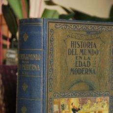 Libros de segunda mano: HISTORIA DEL MUNDO EN LA EDAD MODERNA -TOMO VIII - NAPOLEON - 1950 - 2ª EDICION. Lote 41690618
