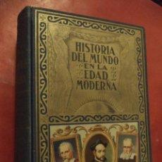 Libros de segunda mano: HISTORIA DEL MUNDO EN LA EDAD MODERNA. LA REFORMA. TOMO II. D. EDUARDO IBARRA Y RODRIGUEZ.. Lote 41877720
