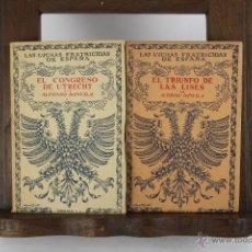 Libros de segunda mano: D-189. LAS LUCHAS FRATRICIDAS DE ESPAÑA. ALFONSO DAVILA. 1945. 14 VOL. . Lote 42150500