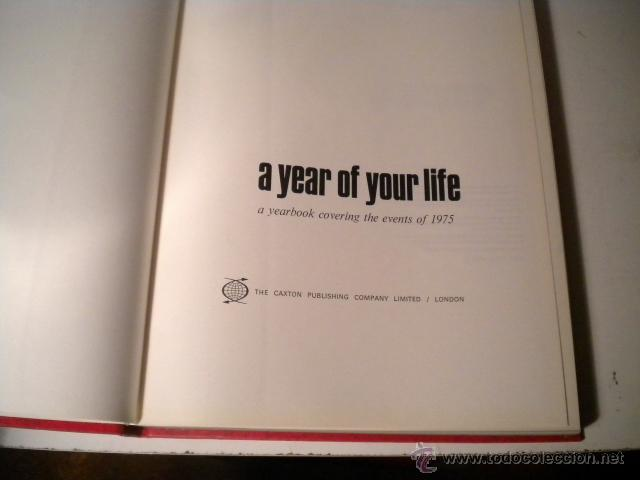 Libros de segunda mano: Lote 8 tomos NATIONAL YEARBOOK - A YEAR OF YOUR LIFE COVERING THE EVENTS ..CAXTON ( Inglés ) - Foto 42 - 42262739