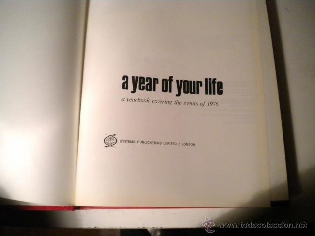 Libros de segunda mano: Lote 8 tomos NATIONAL YEARBOOK - A YEAR OF YOUR LIFE COVERING THE EVENTS ..CAXTON ( Inglés ) - Foto 54 - 42262739