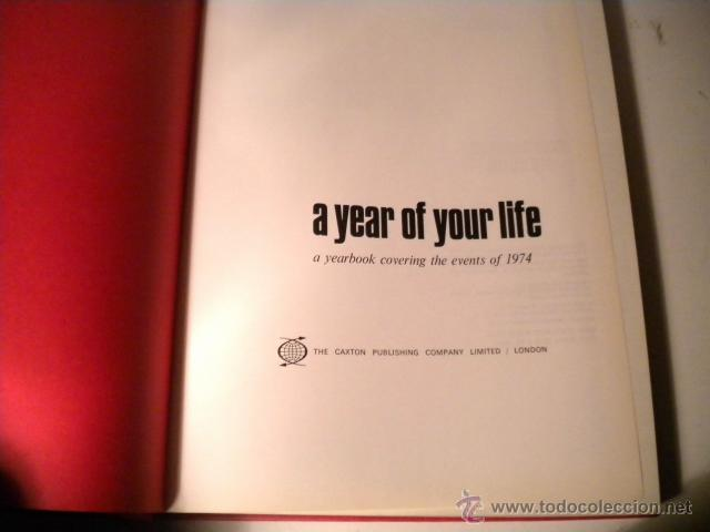 Libros de segunda mano: Lote 8 tomos NATIONAL YEARBOOK - A YEAR OF YOUR LIFE COVERING THE EVENTS ..CAXTON ( Inglés ) - Foto 62 - 42262739