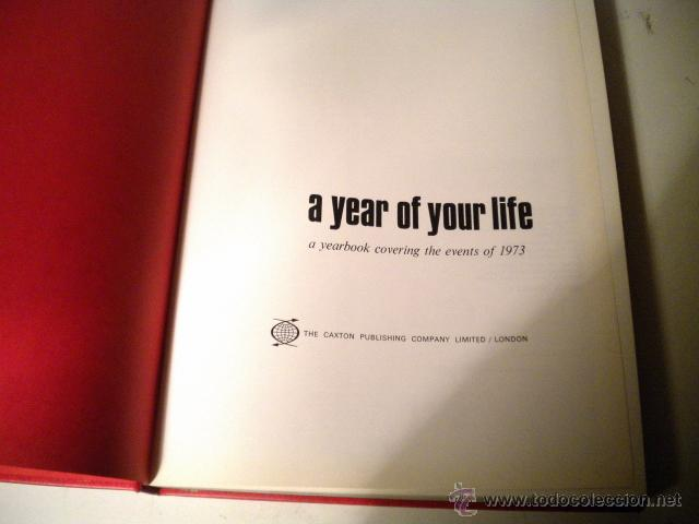Libros de segunda mano: Lote 8 tomos NATIONAL YEARBOOK - A YEAR OF YOUR LIFE COVERING THE EVENTS ..CAXTON ( Inglés ) - Foto 69 - 42262739