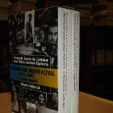 Libros de segunda mano: HISTORIA DEL MUNDO ACTUAL 1.945 - 1.995 - FERNANDO GARCÍA DE CORTÁZAR Y JOSÉ M. LORENZO ESPINOSA. Lote 42293471