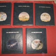 Libros de segunda mano: LOTE LIBROS LA CONQUISTA DEL AIRE - TIME LIFE (AVIACIÓN). Lote 42684555