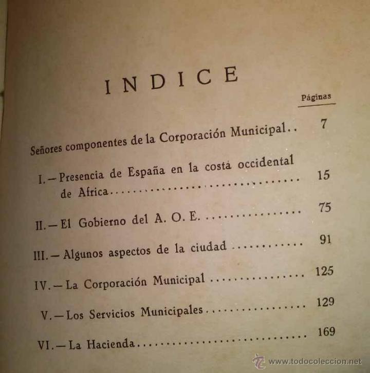Libros de segunda mano: MEMORIA - TERRITORIO DE IFNI - AYUNTAMIENTO DE SIDI IFNI - AÑOS 1948 y 1949 - Foto 6 - 42818934