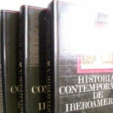 Libros de segunda mano: HISTORIA CONTEMPORÁNEA DE IBEROAMÉRICA (3 VOLÚMENES) BELMONTE, JOSÉ. 1971. Lote 42850367