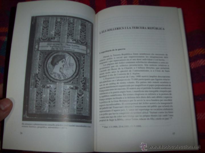 Libros de segunda mano: SOLLERICS A FRANÇA.PASSIONS I QUIMERES.1870-1940.ANTONI VICENS CASTANYER. MALLORCA. VEURE FOTOS. - Foto 5 - 154627236
