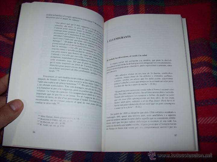 Libros de segunda mano: SOLLERICS A FRANÇA.PASSIONS I QUIMERES.1870-1940.ANTONI VICENS CASTANYER. MALLORCA. VEURE FOTOS. - Foto 6 - 154627236