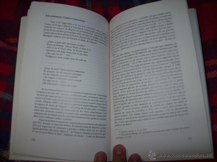 Libros de segunda mano: SOLLERICS A FRANÇA.PASSIONS I QUIMERES.1870-1940.ANTONI VICENS CASTANYER. MALLORCA. VEURE FOTOS. - Foto 7 - 154627236