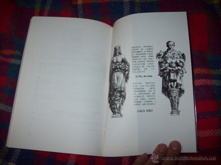 Libros de segunda mano: SOLLERICS A FRANÇA.PASSIONS I QUIMERES.1870-1940.ANTONI VICENS CASTANYER. MALLORCA. VEURE FOTOS. - Foto 12 - 154627236