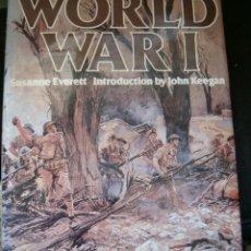 Libros de segunda mano: SUSANNE EVERETT. WORLD WAR I. RM65640. . Lote 43649288