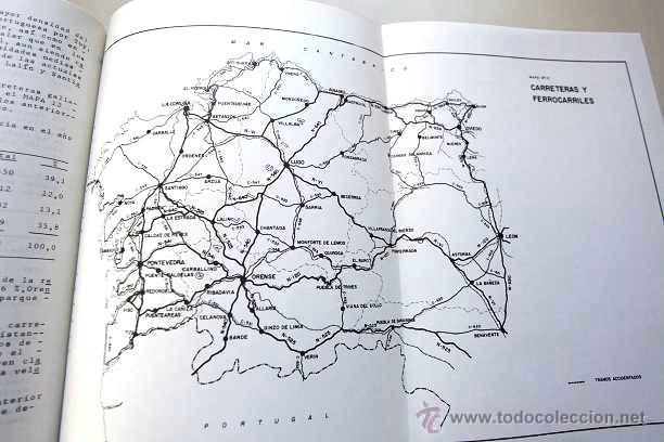 Libros de segunda mano: 1966 - TEXTO ESTUDIO SOBRE LA VIA DE PENETRACION POR CARRETERA A GALICIA - RARO - Foto 2 - 45172046