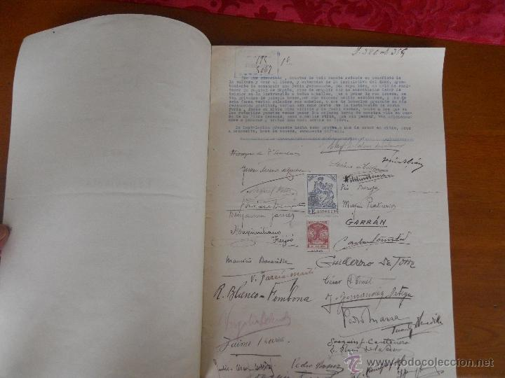 FERIA DE LIBROS CUESTA DE MOYANO, FACSIMIL SOLICITUD NUEVA UBICACION (Libros de Segunda Mano - Historia Moderna)