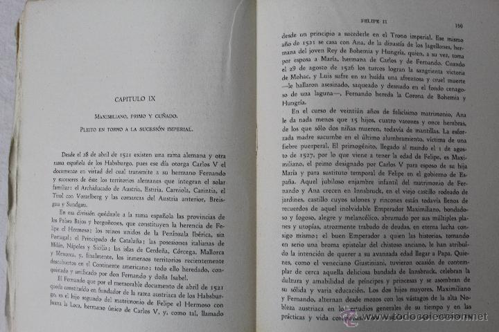 Libros de segunda mano: L-834. FELIPE II. LUDWIG PFANDL. 2ª EDICION. CULTURA ESPAÑOLA. MADRID. 1942. - Foto 5 - 45421514