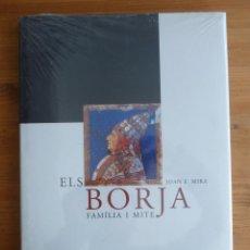 Libros de segunda mano: ELS BORJA FAMILIA I MITE. JOAN F. MIRA. UNIVERSITAT VALENCIA. PRECINTADO.. Lote 45856245