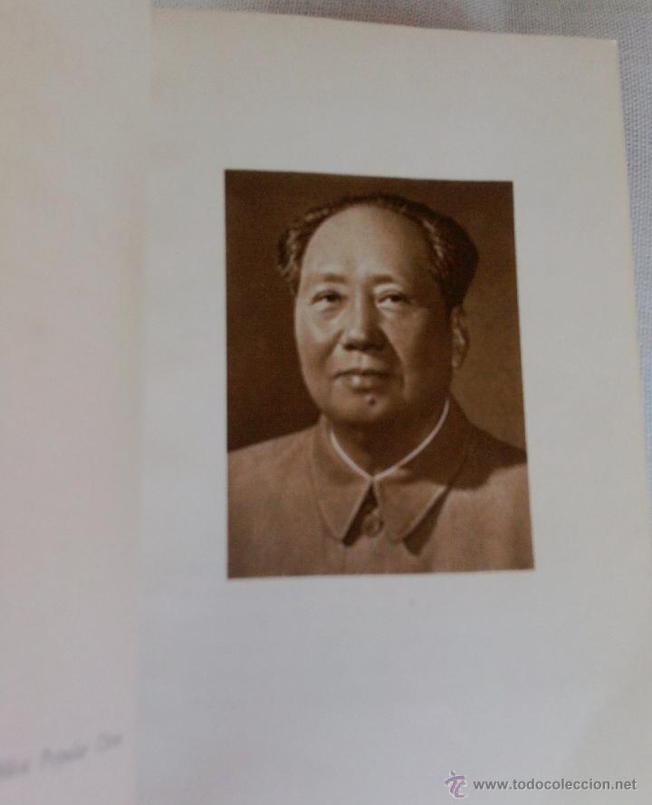 Libros de segunda mano: COMUNISMO-LIBRO ROJO DE MAO,CITAS DEL PRESIDENTE MAO TSETUNG,AÑO 1972,CHINA COMUNISTA,EN CASTELLANO - Foto 2 - 45944235