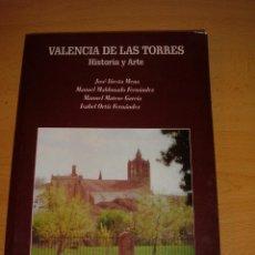 Libros de segunda mano: LIBRO VALENCIA DE LAS TORRES, 1999. Lote 46026729