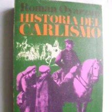 Libros de segunda mano: HISTORIA DEL CARLISMO. OYARZUN, ROMÁN. 1969. Lote 46285856