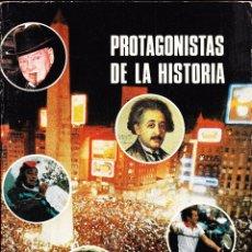 Libros de segunda mano: PROTAGONISTAS DE LA HISTORIA , FOMENTO DE BIBLIOTECAS AÑO 1985. Lote 46543447