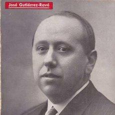 Libros de segunda mano: GIL ROBLES, CAUDILLO FRUSTRADO / JOSE GUTIERREZ-RAVE. Lote 46980842