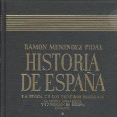 Libros de segunda mano: HISTORIA DE ESPAÑA (M. PIDAL, DIR.). TOMO 29-I. PRIMEROS BORBONES (1700-1759). MADRID, 1996. Lote 47002044