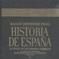 Libros de segunda mano: HISTORIA DE ESPAÑA (M. PIDAL, DIR.). TOMO 29-II. LA ÉPOCA DE LOS PRIMEROS BORBONES. MADRID, 1995. Lote 47065979