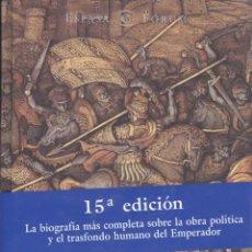 Libros de segunda mano: MANUEL FERNÁNDEZ ÁLVAREZ. CARLOS V, EL CÉSAR Y EL HOMBRE. MADRID, 2003. HE. Lote 52158559