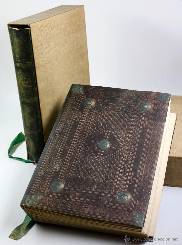 LA DIPUTACIÓ DEL GENERAL DE CATALUNYA, EN LOS SIGLOS XV-XVI. 2 TOMOS. AÑO 1950. 23X34 CM. (Libros de Segunda Mano - Historia Moderna)