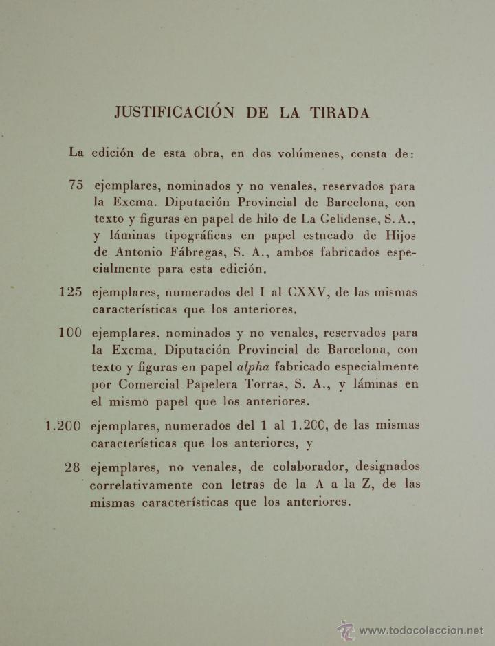 Libros de segunda mano: La diputació del general de Catalunya, en los siglos XV-XVI. 2 tomos. Año 1950. 23x34 cm. - Foto 3 - 47466321
