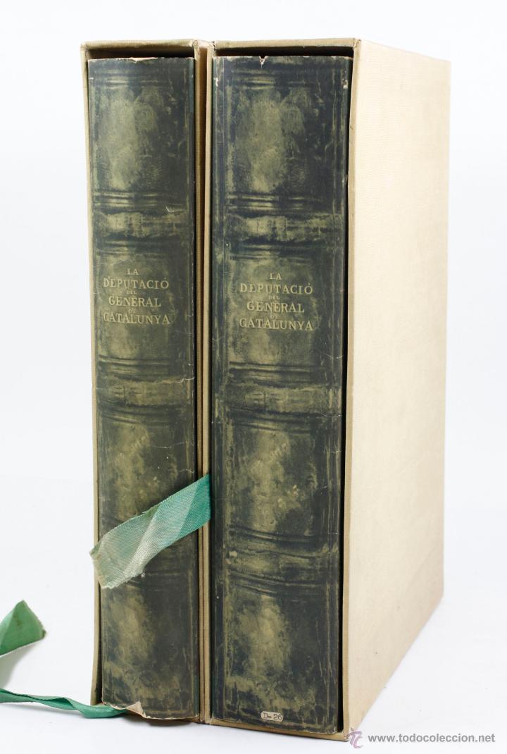 Libros de segunda mano: La diputació del general de Catalunya, en los siglos XV-XVI. 2 tomos. Año 1950. 23x34 cm. - Foto 6 - 47466321