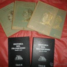 Libros de segunda mano: HISTORIA DEL FRANQUISMO - DANIEL SUEIRO Y DIARIO 16 (COMPLETOS). Lote 47541142