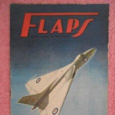Libros de segunda mano: FLAPS 1 REVISTA JUVENIL DE DIVULGACIÓN AERONÁUTICA 1960 CHANCE VOUGHT F4U SERVER CUESTA 1960. Lote 48145295