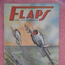 Libros de segunda mano: FLAPS 2 REVISTA JUVENIL DE DIVULGACIÓN AERONÁUTICA RECORTABLE 1500 GRIFFON SERVER CUESTA 1960. Lote 48145515