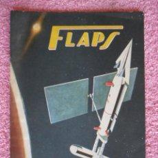 Libros de segunda mano: FLAPS 10 REVISTA JUVENIL AERONÁUTICA RECORTABLE NAKAJIMA K1 SHOKI EDITORIAL SERVER CUESTA 1961. Lote 48148587