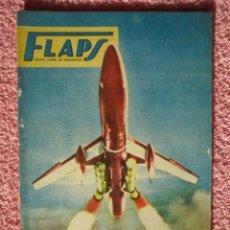 Libros de segunda mano: FLAPS 12 REVISTA JUVENIL AERONÁUTICA RECORTABLE YAKOLEVP YAK-9P EDITORIAL SERVER CUESTA 1961. Lote 48148594