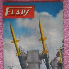 Libros de segunda mano: FLAPS 15 REVISTA JUVENIL AERONÁUTICA RECORTABLE WESTLAND LYSANDER SERVER CUESTA 1961. Lote 48148601