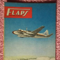 Libros de segunda mano: FLAPS 17 REVISTA AERONÁUTICA RECORTABLE FOUGA CM-170 MAGISTER SERVER CUESTA 1961. Lote 48148615