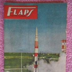 Libros de segunda mano: FLAPS 18 REVISTA JUVENIL AERONÁUTICA RECORTABLE REPUBLIC P-47 THUNDERBOLT SERVER CUESTA 1961. Lote 48148620