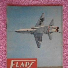 Libros de segunda mano: FLAPS 20 REVISTA AERONÁUTICA RECORTABLE BOEING B-47 STRATOJET EDITORIAL SERVER CUESTA 1961. Lote 48148628