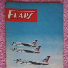 Libros de segunda mano: FLAPS 22 REVISTA JUVENIL AERONÁUTICA RECORTABLE CONVAIR B-58 HUSTLER EDITORIAL SERVER CUESTA. Lote 48148638