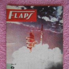 Libros de segunda mano: FLAPS REVISTA JUVENIL AERONÁUTICA 23 RECORTABLE B-58 HUSTLER EDITORIAL SERVER CUESTA 1961. Lote 48148682