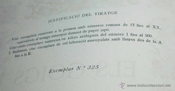 Libros de segunda mano: ELS GOIGS, JOAN AMADES VOL. 1. 26X35 CM. AÑO 1947 ED NUMERADA - Foto 3 - 48956431