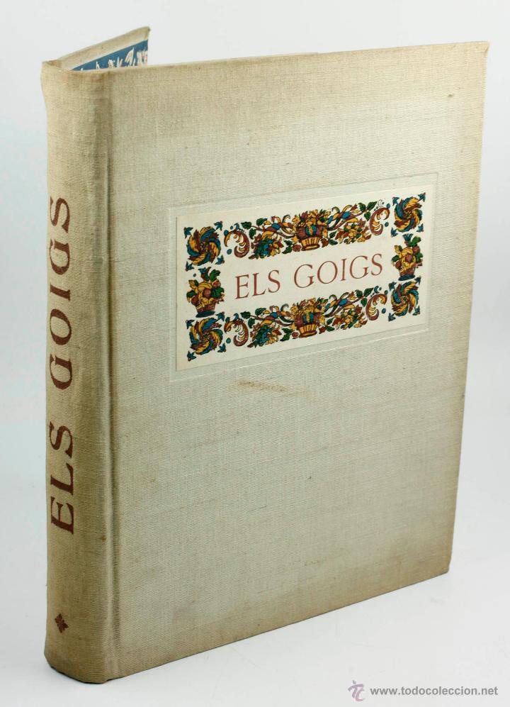 Libros de segunda mano: ELS GOIGS, JOAN AMADES VOL. 1. 26X35 CM. AÑO 1947 ED NUMERADA - Foto 7 - 48956431