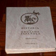 Libros de segunda mano: HISTORIA DE LA CRUZADA ESPAÑOLA VOLUMEN I, DIRECCIÓN LITERARIA: JOAQUIN ARRARÁS , 1984. Lote 49078609