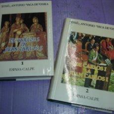 Libros de segunda mano: ASÍ SE HIZO ESPAÑA + DE CARLOS I A JUAN CARLOS I (2ª PARTE DE ASÍ SE HIZO ESPAÑA). J.A. VACA DE OSMA. Lote 49232459