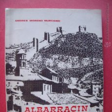 Libros de segunda mano: ANDRES MORENO MURCIANO.-ALBARRACIN.-BREVIARIO TURISTICO.-VALENCIA.-AÑO 1968.. Lote 50033125