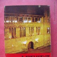 Libros de segunda mano: LERIDA.-CALLEJERO.-GUIA.-AYUNTAMIENTO DE LERIDA.-GUIA Y CALLEJERO DE LA CIUDAD.-AÑO 1974.. Lote 50033526