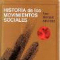 Libros de segunda mano - Historia de los Movimientos Sociales (Juan Roger Riviere) - 50701475